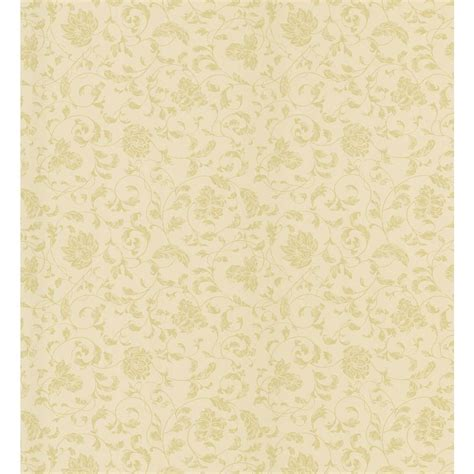brewster 56 sq ft merlin yellow wallpaper 443