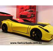 Yellow F1 Aero Ferrari Look Car Bed  YouTube