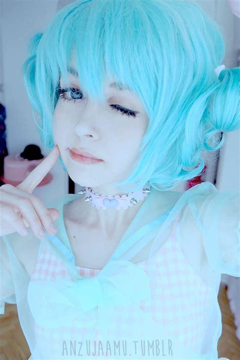 anime hairstyles cosplay cosplay makeup inspiration anzujaamu kawaii wig pastel