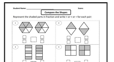 diagram to compare fractions ideas for comparing fractions learning centers the