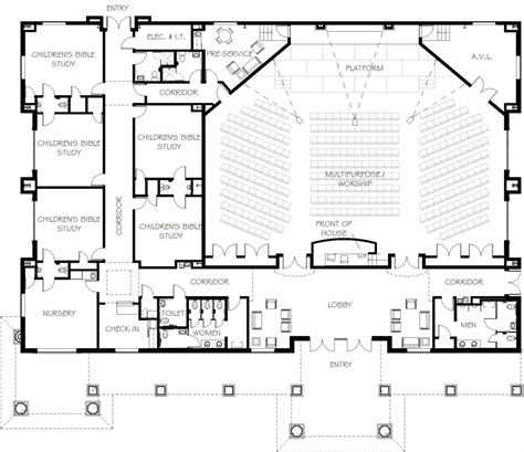 building plan home design new baptist church a centered church with plenty of modern church