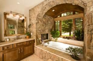 Design Bathroom Layout bathroom fireplaces a luxurious and welcomed accent feature