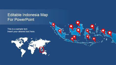 design powerpoint indonesia editable indonesia powerpoint map slidemodel