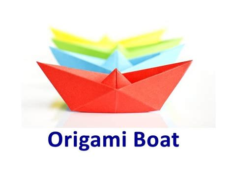 origami boat out of square paper origami boat out of square paper origami tutorial lets
