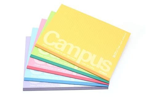 kokuyo sketchbook kokuyo cus notebook semi b5 dotted 6 mm rule pack