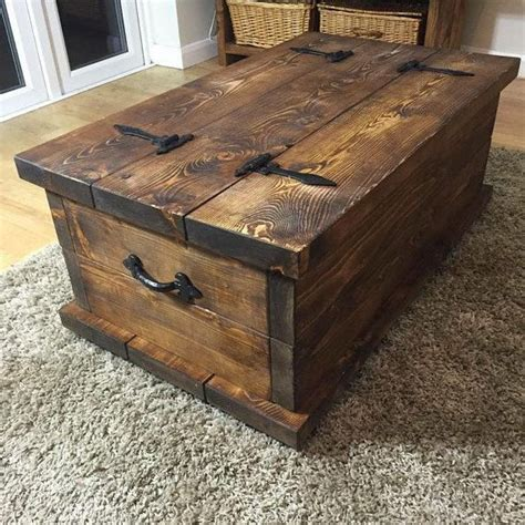 Handmade Wooden Chest - 25 best ideas about rustic coffee tables on