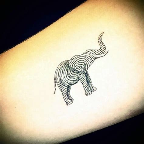40 lovely and cute elephant tattoo design bored art
