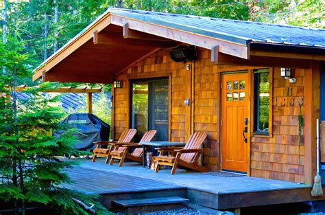 Cottages For Sale On Vancouver Island by Port Renfrew Accommodation Handsome Dan S Cottages