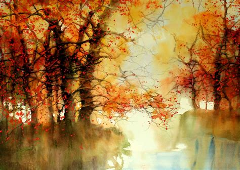 spotting wondrous watercolor landscapes by z l feng the luxury spot