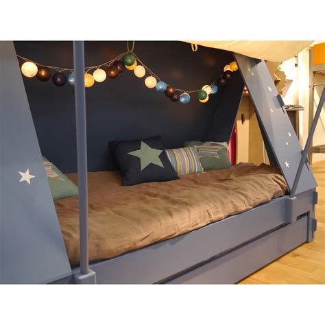 tent over bed childrens tent cabin bed in green by mathy by bols