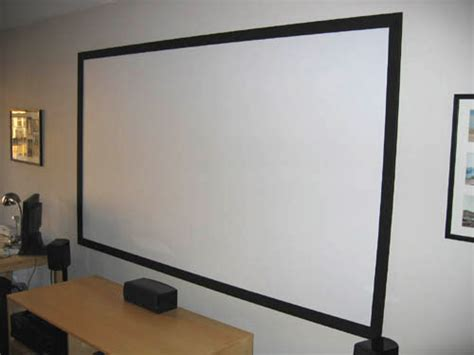 projection screen diy diy high contrast grey projector screen autos post