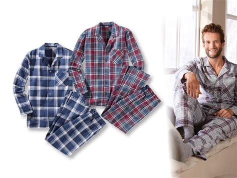 Pure Comfort Livergy Casual R Men S Flannel Pyjamas Lidl Ireland