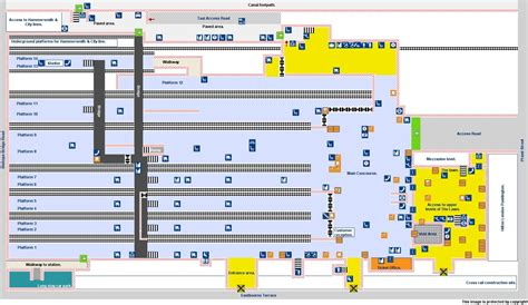 Paddington Station Floor Plan national rail enquiries
