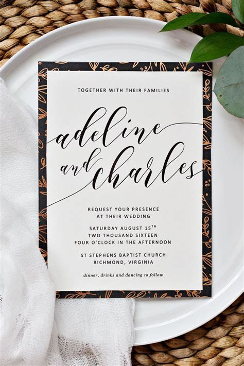 DIY Wedding Invitations: a collection of ideas to try
