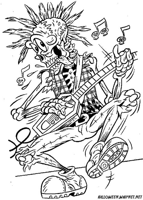 coloring pages for adults halloween halloween coloring pages for adults skull rock coloring
