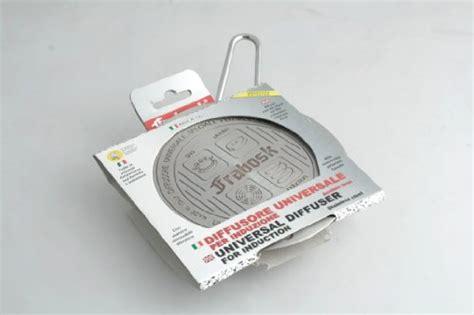 frabosk large inductor hob adaptor plate frabosk induction adapter plate stainless steel silver 14 cm from frabosk