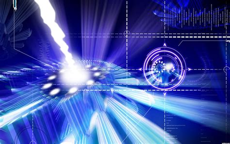 blue future tech backgrounds for powerpoint templates ppt