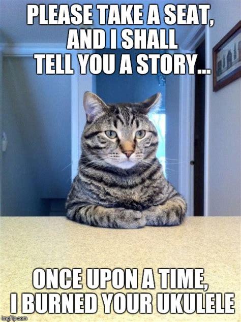 Your Story Meme - i shall tell you about your ukulele imgflip