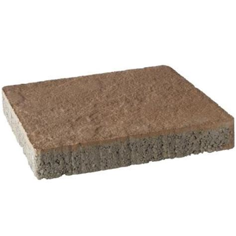 12x12 patio pavers home depot pavestone 10 ft x 10 ft cafe capriana combo patio on a