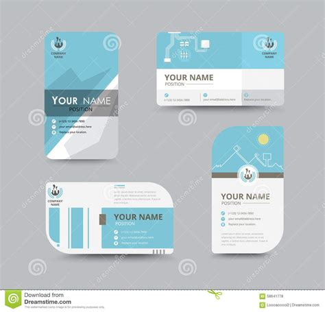 card name template vector business name card template business letter template
