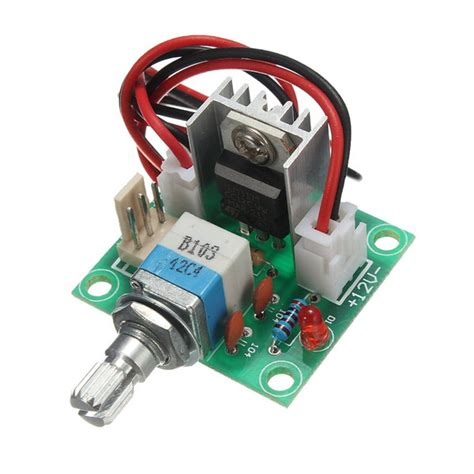 Regulator Bor lm317 voltage regulator board fan speed with