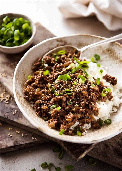 asian beef bowls recipe asian beef beef bowls minced