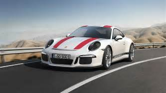 Who Is Porsche Made By 2017 Porsche 911 R Officially Revealed Only 991 Units
