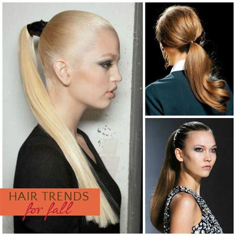 Mba Ponytail by Trend Report 10 Hairstyle Trends For Fall Skimbaco