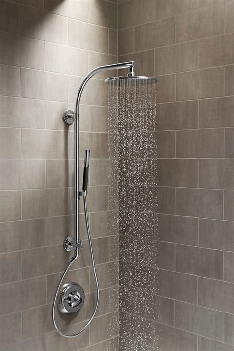 A Shower by Black Bathroom Ideas With Toilet And Sink Modern