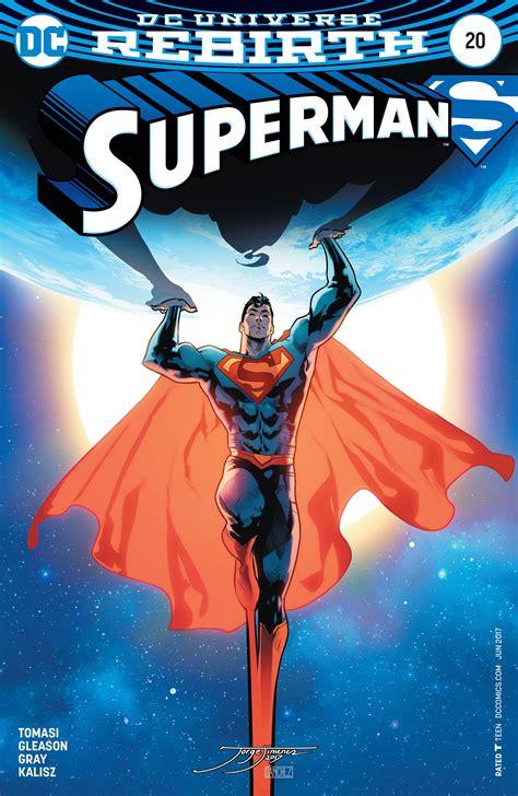 Dc Comics Go 20 April 2017 superman 20 variant cover fresh comics