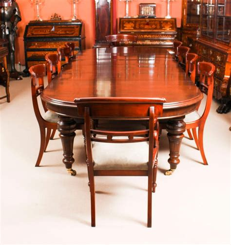 antique victorian   mahogany dining table  century