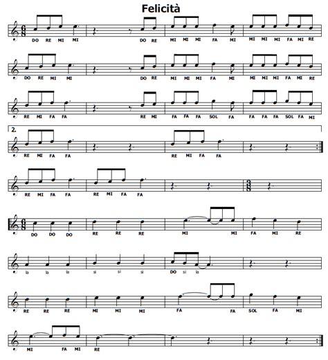 il clarinetto testo musica e spartiti gratis per flauto dolce
