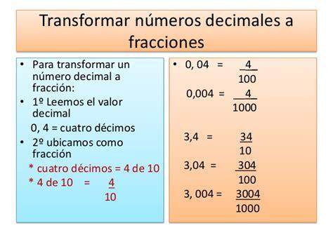 transformar imagenes a un pdf n 250 meros decimales y fracciones