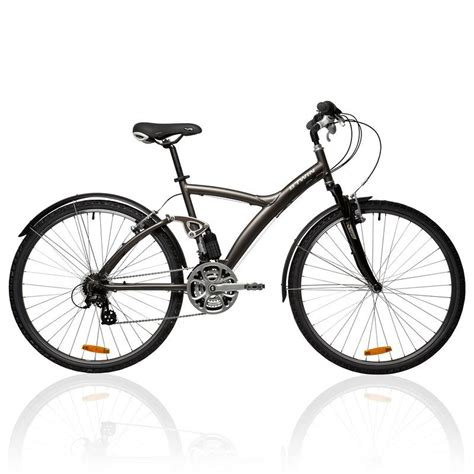 most comfortable hybrid original 700 hybrid bike decathlon