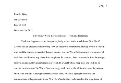 Aldous Huxley Essay by And Happinesstwo Things Everybody Wants In The Novel Brave New World Aldous Huxley