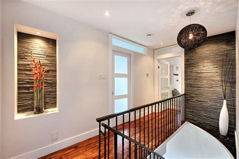 modern cool modern living room montreal by bruno cool baseboard trim method montreal modern hall image