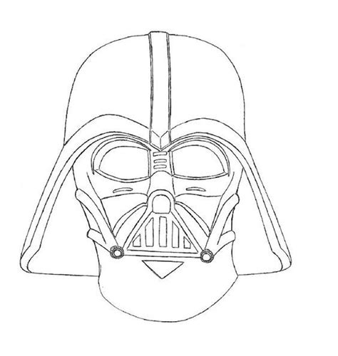 printable vader mask darth vader coloring pages best coloring pages for kids