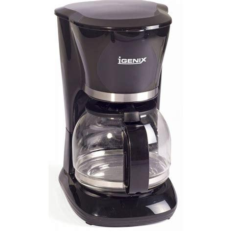 Filter Coffee Maker igenix filter coffee maker black igenix from powerhouse je uk