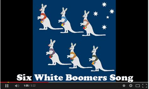 six white boomers in australia ideas for the classroom kidssoup