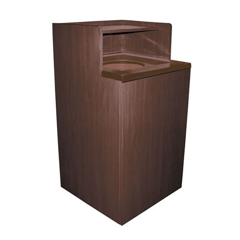 In Cabinet Trash Cans For The Kitchen by Update Wru 32 32 Gal Indoor Decorative Trash Can Wood