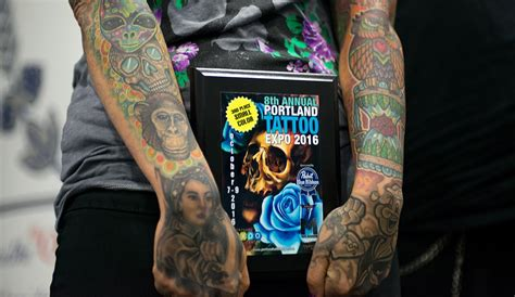 tattoo convention portland november photos 8th annual portland tattoo expo komo