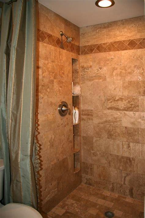 Shower Shelves Built In by Built In Shower Shelves Bathroom One Day