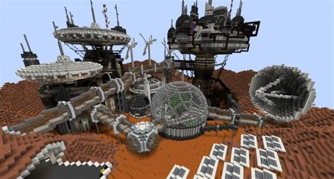 House Planet by Mars Complex Foxtrot Minecraft Building Inc