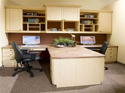 Home Office Desks For Two Dual Desk Home Office House Plans With Office Home Office With Two Desks Office Ideas