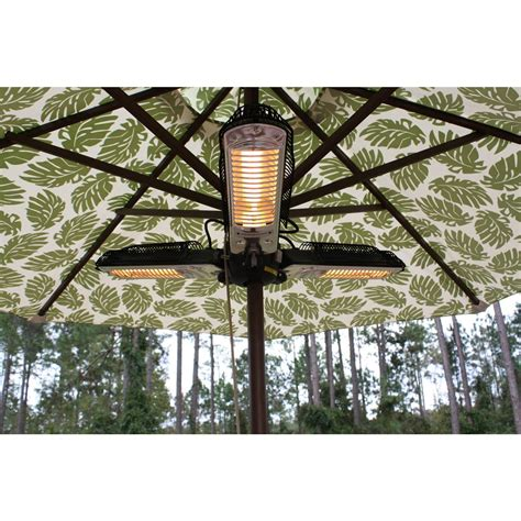 Umbrella Halogen Patio Heater Sense Umbrella Halogen Patio Heater 177141 Pits Patio Heaters At Sportsman S Guide