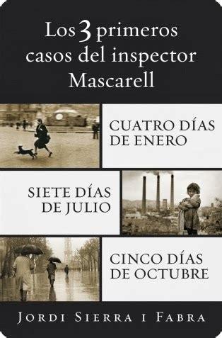 seis dã as de diciembre inspector mascarell edition books mis detectives favorit s miquel mascarell jordi