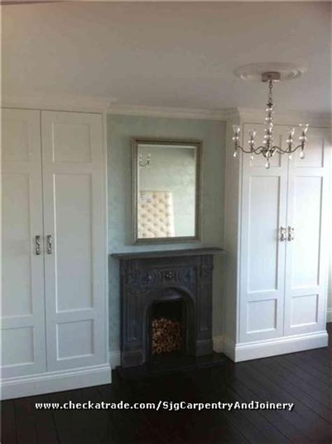 Built In Wardrobes Around Fireplace by Front Rooms Fireplaces And Built Ins On