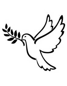 Coloring Book Birds Dove Of Peace Coloring Page Doves Pinterest