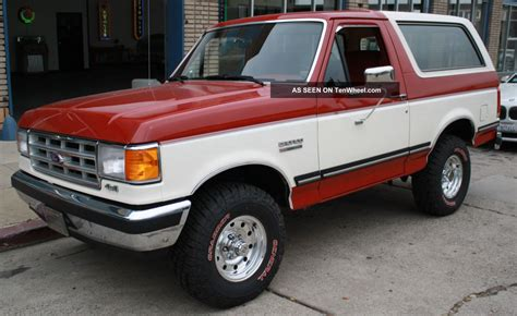 small engine repair training 1988 ford bronco ii spare parts catalogs service manual automobile air conditioning service 1988 ford bronco interior lighting 1991