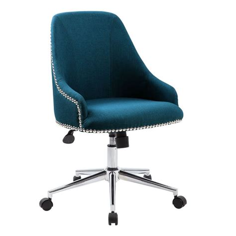 nailhead trim desk chair trends on a budget modern office officefurniture